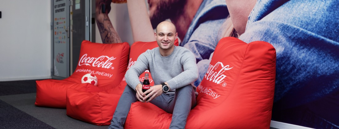 Každý den v Coca-Cola HBC se mi vyplácí